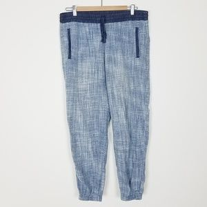 Cloth & Stone Joggers Pants Light Chambray M